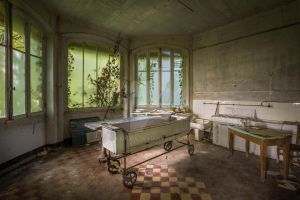 The abandoned morgue by Explox