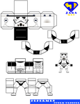 Storm Trooper PaperMen by JagaMen