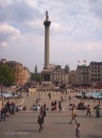 Trafalgar Square, London II by MaRyS90