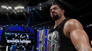 Roman Reigns Entrance Screenshot by ThexRealxBanks