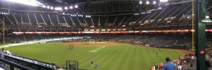 Chase Field Panorama 2 by kkworker