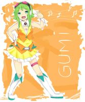 Gumi Megapoid by aku-no-apple