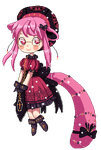 [C] Pixel journal doll for FatherLuna by E-y-k-o