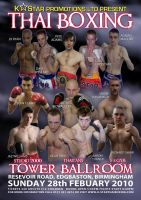 Thai Boxing Poster Feb 2010 by theoggster