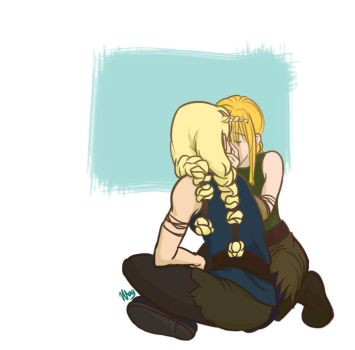 HTTYD - Kiss by fortheloveofpizza