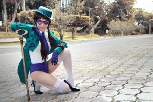 Lady Riddler by AngelaBermudez