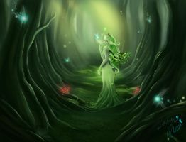 Fairy Queen of life by Sorayiel