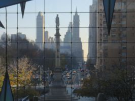 Columbus Circle monument by jswis