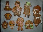 Anime gingerbread cookie 9 by Sonneen