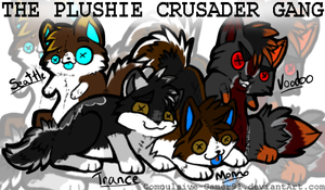 The Plush Crusader Gang by That-CrazyCat