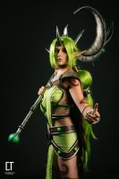 Dryad Soraka Cosplay ~ League of legends by mimsrocks