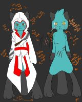 Ezio the Dewott by West-Kitsune
