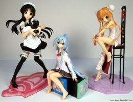 April 2 2012 - Kin's Scale Figurine Collection by Kuro-Kinny