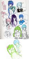 Vocaloid Fanart Drawings by Lilybyte