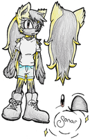 Reference Sheet: ''Sonar'' the Tenrec by neokasey82