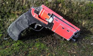 Destiny Cosplay: Duke Mk44 by UnknownEmerald