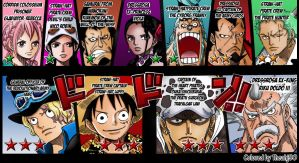 One Piece 746:Wanted ranks *UPDATED by Theahj90