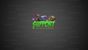 Support Wallpaper by SuppyArts