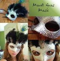 mardi gras mask by sammy3773