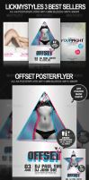 Top Selling Poster and Flyer Bundle by lickmystyle