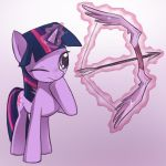 MLP: Twilight bow by keterok