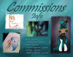 Open Commissions by AstralisPL