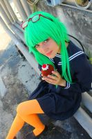 GUMI: I am Truly a Coward Montblanc by JuriaScarlet