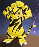 electabuzz by Exravagent