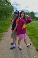 Mystery Twins ~ Gravity Falls by Pandore11