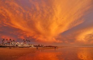 Pismo Beach Sunset 2010 by robgbob