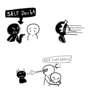 Self Convidence And Self Doubt  by 12luigi
