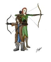 Archery by Lillydew