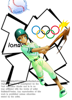 Tommy at the 2012 London Olympics by Galistar07water