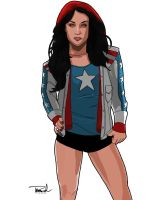 Miss America Chavez by tsbranch