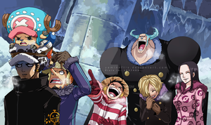 One Piece: 594 Redraw by Yamineftis