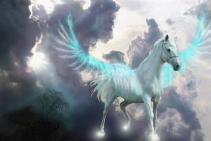 A pegasus is born by Selket47