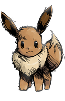 Eevee by nintendo-jr