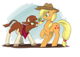 Arizona vs Applejack by Atteez