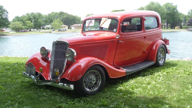 1934 Ford 2 Door Sedan by sfaber95