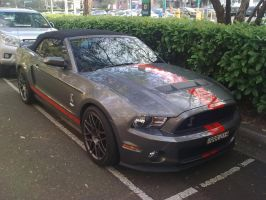 2011 Shelby Mustang GT500 Convertible by TricoloreOne77