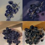 grapes by anna-lakisova