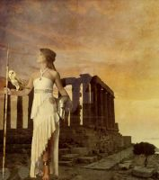 Greek Goddess: Athena by Princess-of-flames