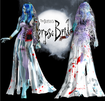 Corpse Bride DL by ZayrCroft