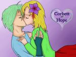 REQUEST: Hope and Corbett OC by SunsetSovereign