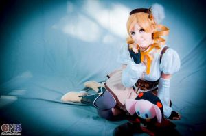 Mami Tomoe (magical girl) by florrrr
