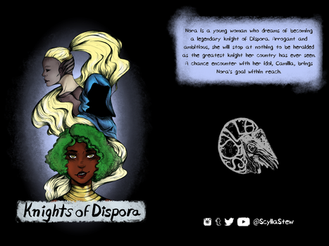Knights of Dispora cover by justthebutts