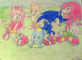Sonic Adventure by MadEyeArcher