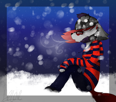 .:Quiet Like The Snow:. by furqueen