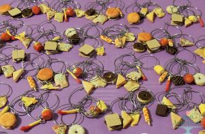 Commission: American Junk Food Wine Charms by Bon-AppetEats