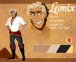 Leonix Character Sheet by goldypirate